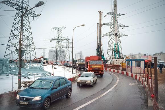 В Москве открыли новую разворотную эстакаду на Волоколамке