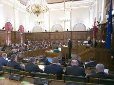 Сайт парламента Латвии