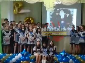Стоп-кадр видео группы «Инцидент Омск»/VK