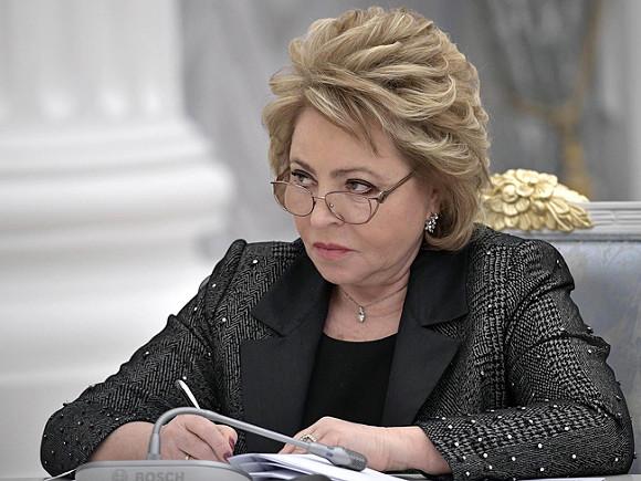 Валентина Матвиенко призвала увидеться снародом иузнать, почему онмитингует