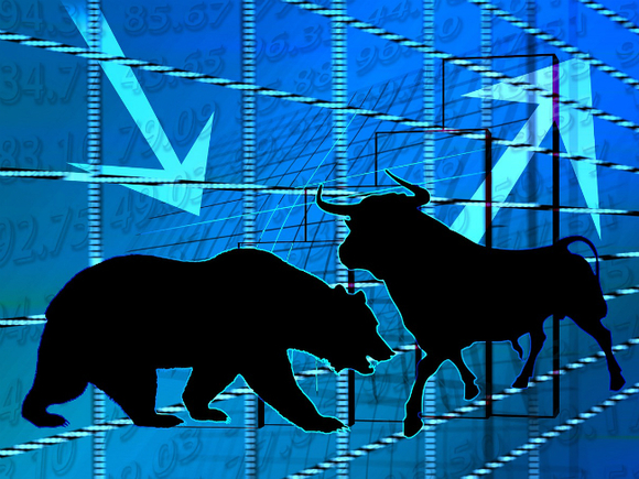 Торги на фондовом рынке США начались на отрицательной территории