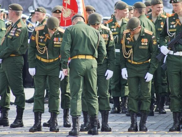 НаПарад Победы впервый раз выйдет военная милиция