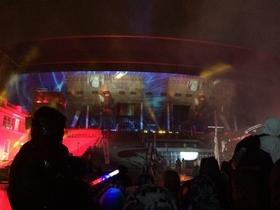 Стадион-долгострой «Зенит-Арена» открыли 3D-шоу и фейерверком