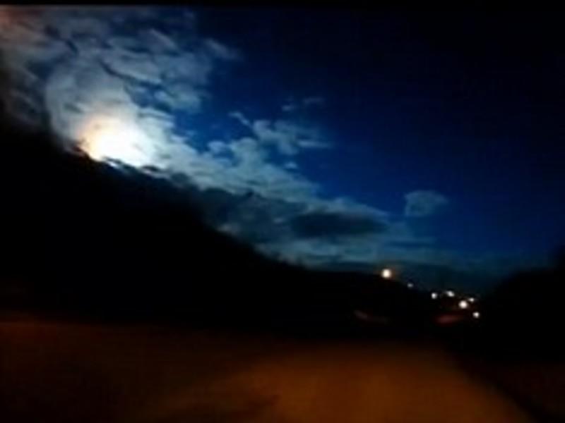 Американцы приняли запуск стратегической ракеты Trident-2 за пролет метеорита