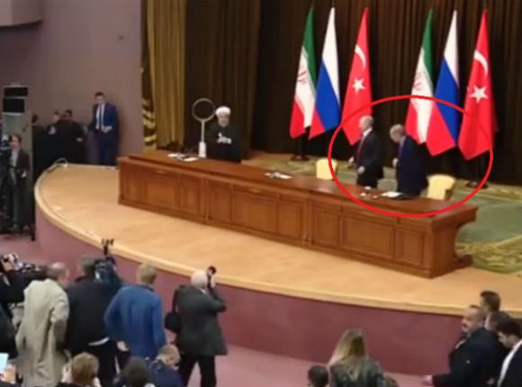 Путин выбил стул из-под Эрдогана