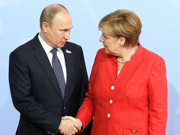 Партия Меркель лидирует поитогам  опроса— Выборы вГермании