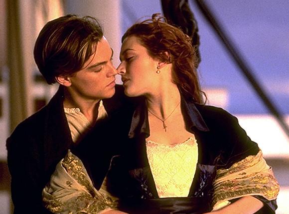 Стоп-кадр из фильма «Титаник»