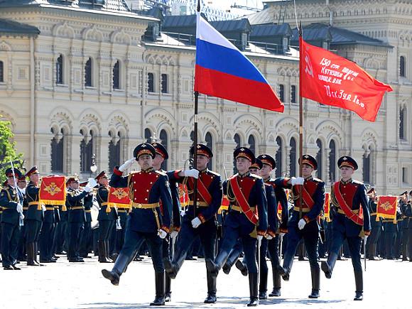 Минобороны составило карту парадов Победы в Российской Федерации