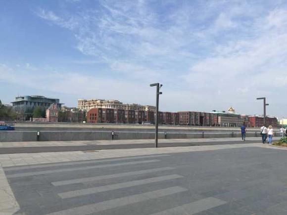 Благоустроенную набережную в700 метров открыли вНагатинском Затоне