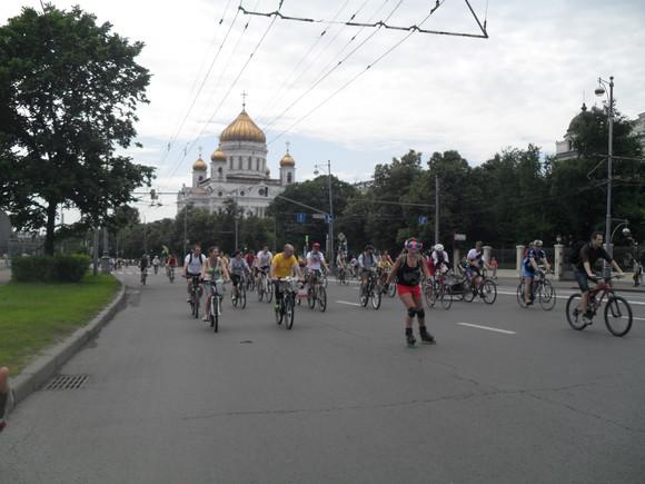 Ряд улиц столицы перекроют для движения транспорта 17сентября из-за Московского велопарада