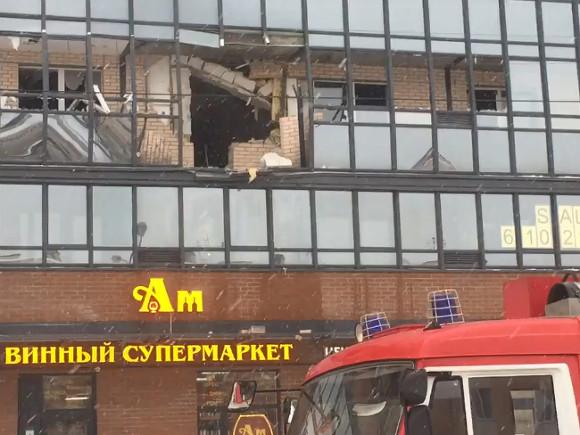 Трое человек обгорели при взрыве в северной столице