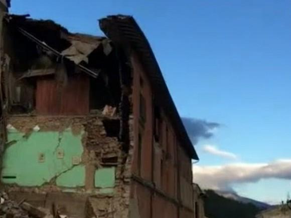 Новое землетрясение случилось вцентральной части Италии