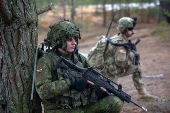 Минобороны Эстонии иПольши обсудили режим пересечения границ для сил НАТО