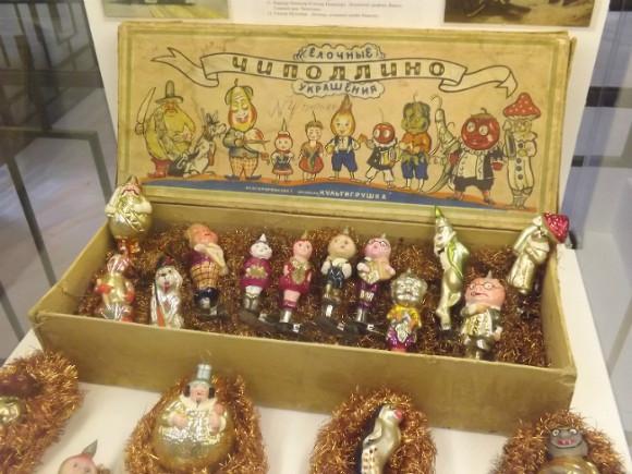 В северной столице открылся музей новогодних игрушек советских времен