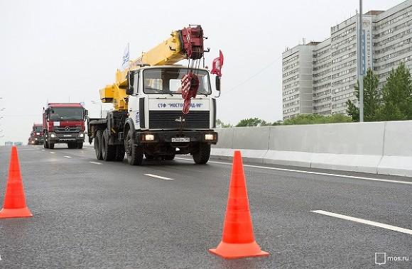 Комплексное благоустройство Щелковского шоссе закончится ксентябрю
