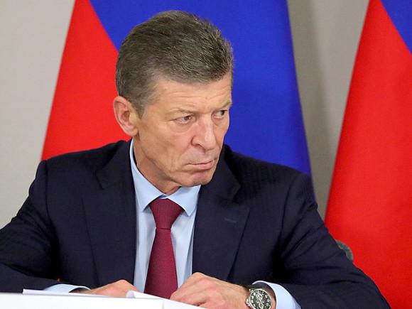 Путин назначил Козака спецпредставителем поразвитию финансовых отношений сМолдавией