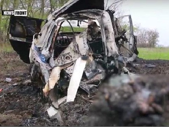 EC  отказывается участвовать в изучении  подрыва автомобиля ОБСЕ вДонбассе