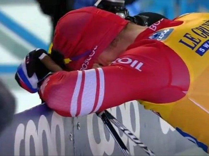 Большунов стал пятым в гонке Ski Tour, ещё больше отрываясь от Клебо в