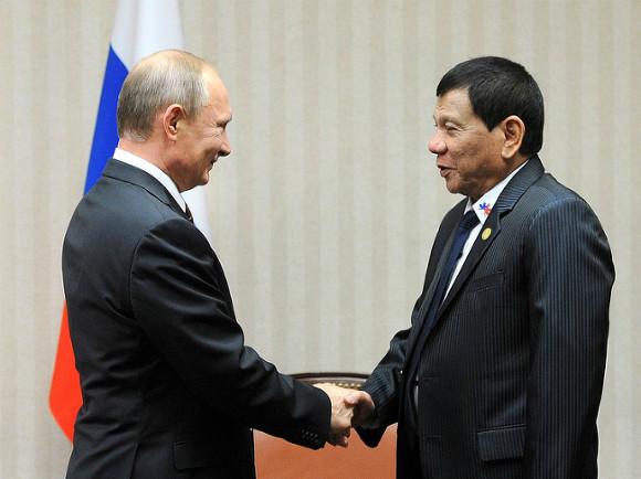 Президент Филиппин прибыл в Москву