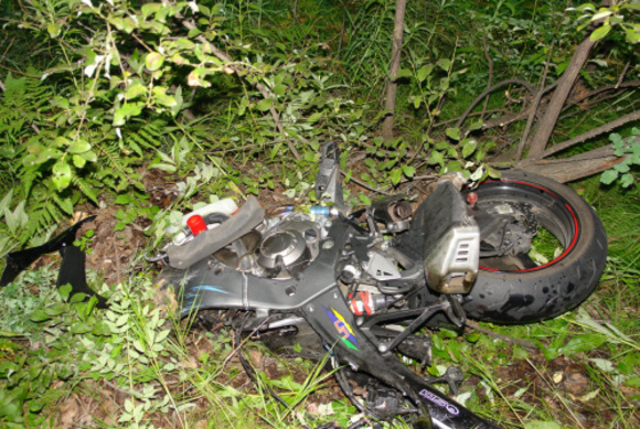 На проспекте Народного Ополчения сбили мотоциклиста