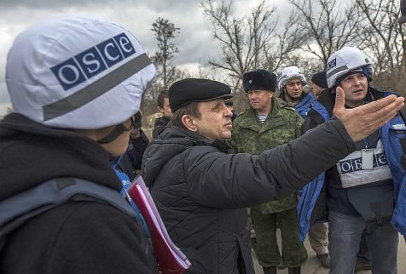 Миссия ОБСЕ засутки зафиксировала взоне АТО 1200 взрывов