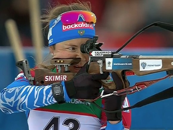 Биатлонистка Юрлова-Перхт стала чемпионкой Европы впасьюте