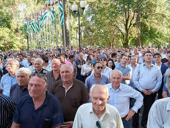 Референдум вАбхазии признан несостоявшимся