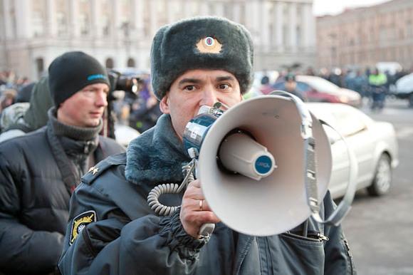 ВВолгограде заведут дело онападении студента наполицейского впроцессе митинга