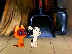 кадр из мультфильма «Котенок по имени Гав»