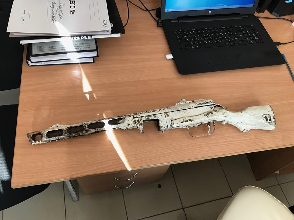 Гражданин Колпино отыскал под полом вгараже исправный пулемет времен ВОВ