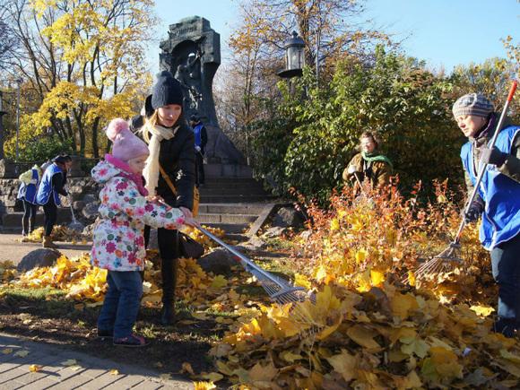 Москвичи определят порядок уборки опавшей листвы