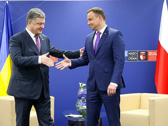 Порошенко иДуда примут общую декларацию кгодовщине независимости государства Украины