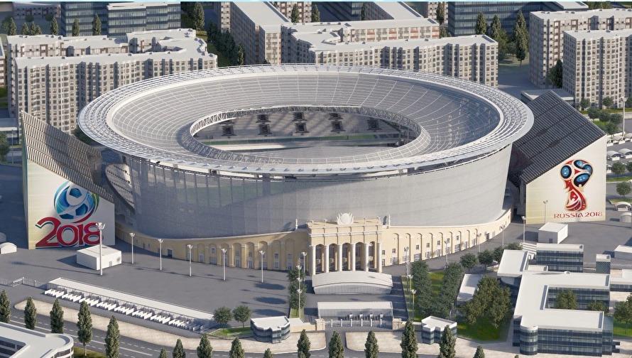 Стадион в екатеринбурге к чм 2019 года - КалендарьГода картинки