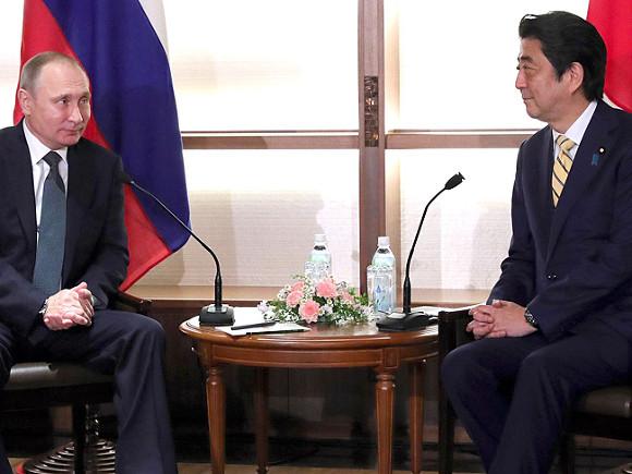 Переговоры сАбэ вНагато были обстоятельными— Путин