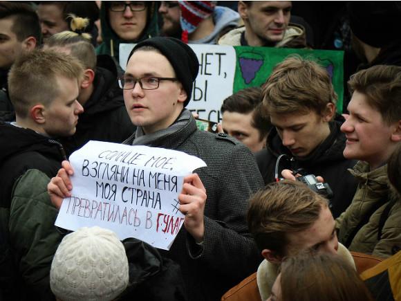 ВПетербурге под суд отданы 89 участников массовых протестов