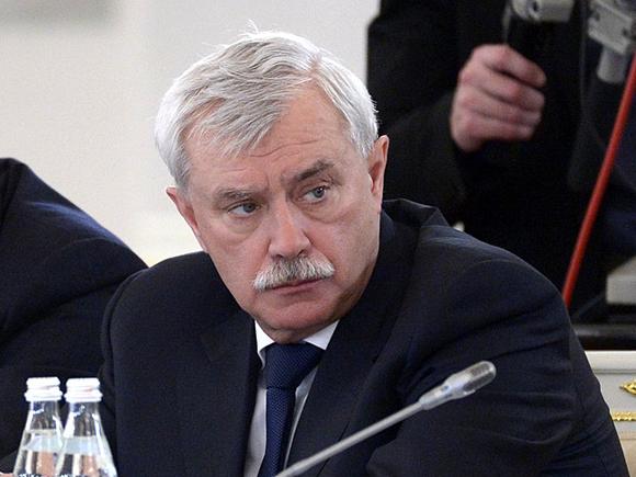Губернатор Полтавченко на две недели отошел от управления городом