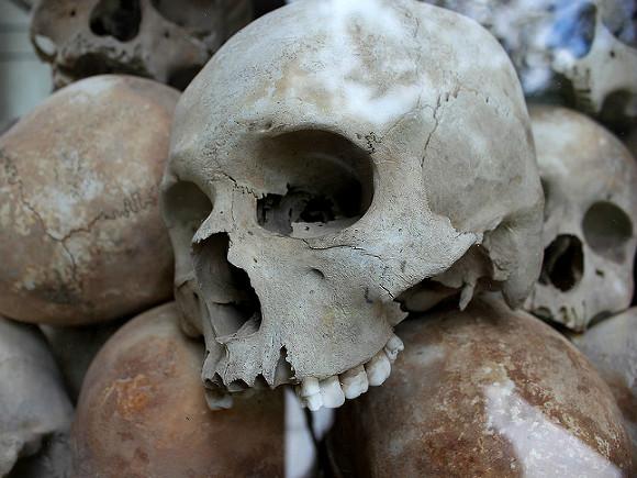 Вцеркви Николая Чудотворца под Петербургом отыскали голые человеческие кости