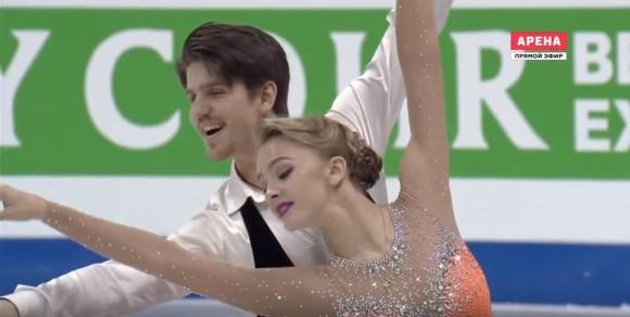 Степанова иБукин стали победителями наFinlandia Trophy