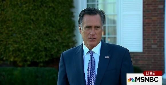 Дональд Трамп встретился скандидатом напост госсекретаря Миттом Ромни