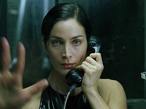 Стоп-кадр из фильма «Матрица»