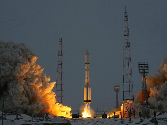 Американский телекоммуникационный спутник выведен нацелевую орбиту
