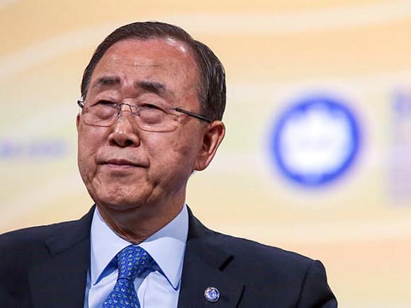 Генеральный секретарь  ООН объявил , что хотелбы видеть воглаве организации женщину