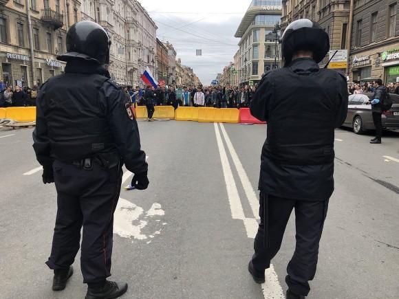 «ОВД-Инфо»: В российской столице задержаны 323 протестующих, еще около 400— по РФ