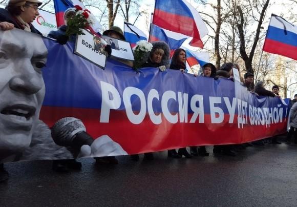 Столичная мэрия позволила марш памяти Немцова сизменением маршрута