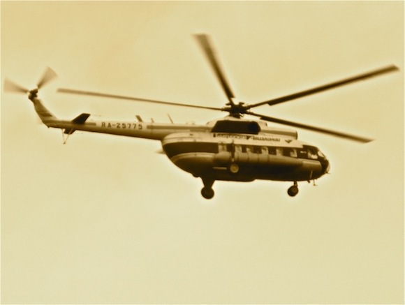 Следователи изъяли образцы топлива разбившегося вХабаровске вертолета Ми-8