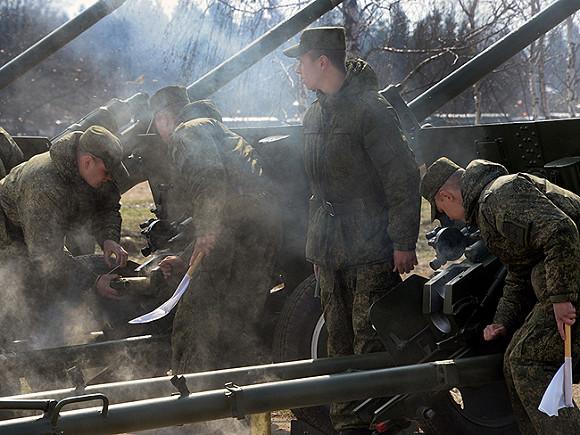 Трое срочников пострадали научениях вКалининградской области