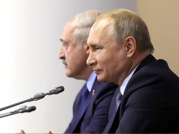 3hrPBxyp 580 - Лидеры России и Белоруссии договорились о создании единых кабмина и парламента