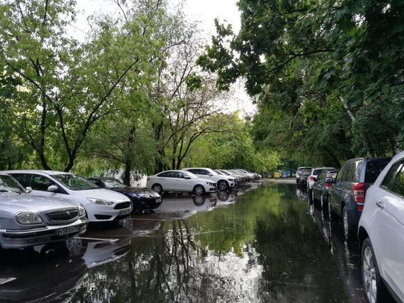 В Москву придут дожди и грозы