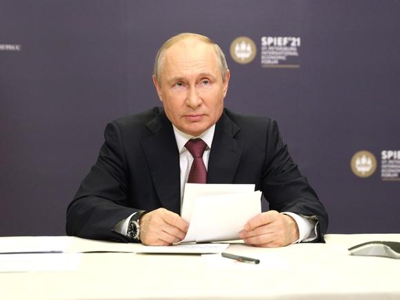 Путин: Российская экономика приближается к докризисному уровню
