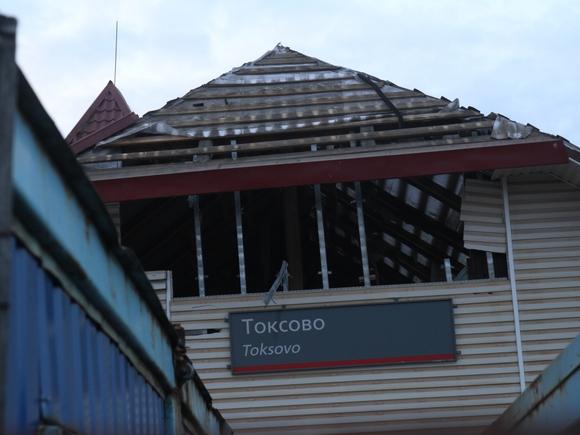 В Токсово ускорился снос исторического вокзала (фото, видео)